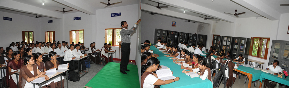 Class Room and Library of NTTC